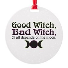 Good Witch, Bad Witch... Ornament