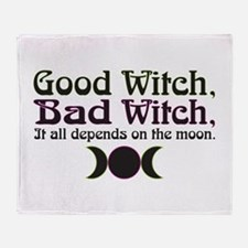 Good Witch, Bad Witch... Throw Blanket