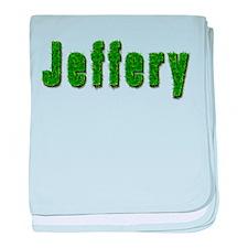 Jeffery Grass baby blanket