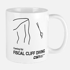 Fiscal Cliff Diving Mug