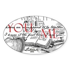 Literati - IT IS WHAT IT IS...YOU...ME... Decal