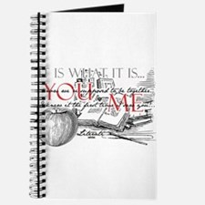 Literati - IT IS WHAT IT IS...YOU...ME... Journal