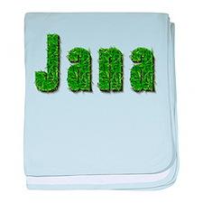 Jana Grass baby blanket