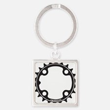 ChainRing Square Keychain