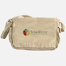 SCNM School Logo Messenger Bag