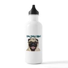 coolstorylaughpug.jpg Water Bottle