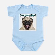 coolstorylaughpug.jpg Infant Bodysuit