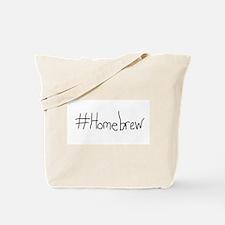 #Homebrew Tote Bag