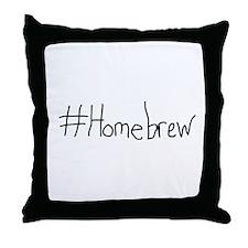 #Homebrew Throw Pillow
