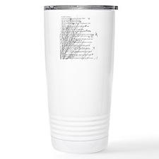 Unique Birder Travel Mug