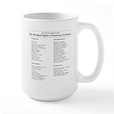 Boston-English Dictionary Mug