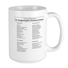 Boston-English Dictionary Mug