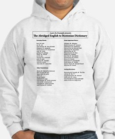 Boston-English Dictionary Jumper Hoody