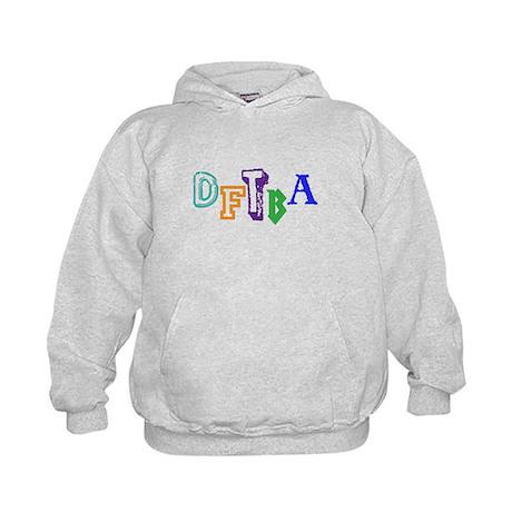 DFTBA - Colorful Kids Hoodie