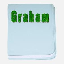 Graham Grass baby blanket