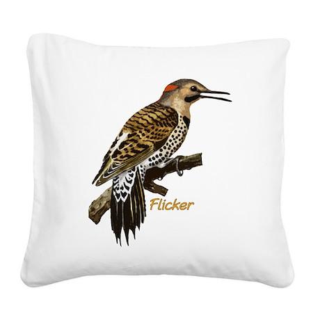 Flicker Square Canvas Pillow