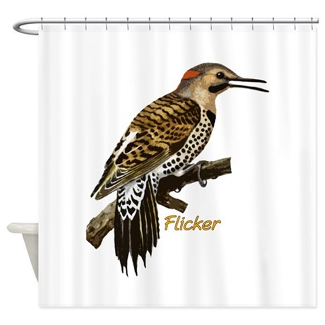 Flicker Shower Curtain