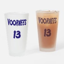 Funny Friday 13th Drinking Glass