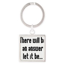 There will be an Answer Square Keychain