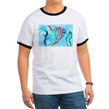 Water color fish T