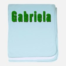 Gabriela Grass baby blanket