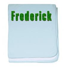 Frederick Grass baby blanket
