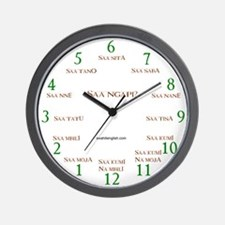 "10"" Swahili Wall Clock"