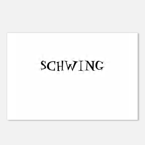 Schwing Postcards (Package of 8)