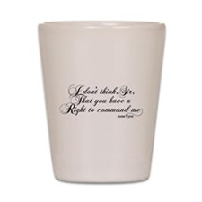 Jane Eyre No Right To Command Me Shot Glass