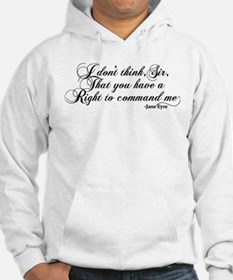 Jane Eyre No Right To Command Me Jumper Hoody