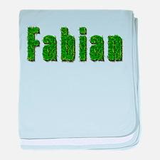 Fabian Grass baby blanket