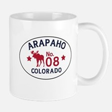Arapaho Moose Badge Mug