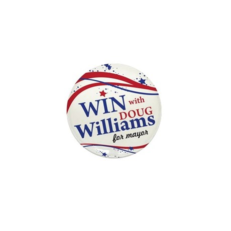 Win with Williams Mini Button (10 pack)