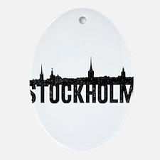 Stockholm Ornament (Oval)