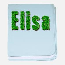 Elisa Grass baby blanket