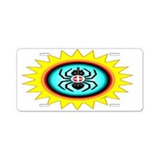SOUTHEAST INDIAN WATER SPIDER Aluminum License Pla