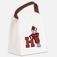 Hhs Leaning Terrier Canvas Lunch Bag