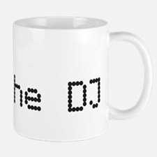 I love (heart) the DJ and headphones design Mug