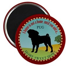 Pug Home Magnet