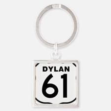Dylan 61 Square Keychain