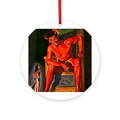 Red Devil Ornament (Round)