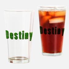 Destiny Grass Drinking Glass