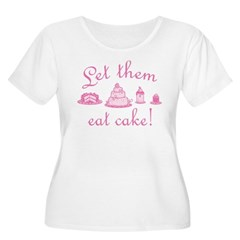 Sweet Pink Let Them Eat Cake T-Shirt