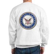 Go Navy Beat Army in Flags Jumper