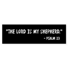 Psalm 23 The Lord Is My Shepherd Stickers