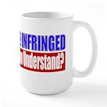 Shall Not Be Infringed Large Mug