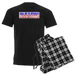 Shall Not Be Infringed Men's Dark Pajamas