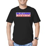 Shall Not Be Infringed Men's Fitted T-Shirt (dark)
