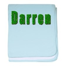 Darren Grass baby blanket