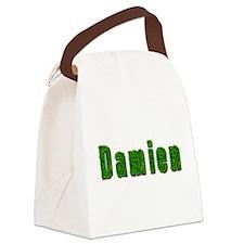 Damien Grass Canvas Lunch Bag